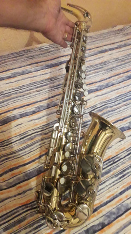 Sax alto weril sênior original de fábrica  - Foto 3