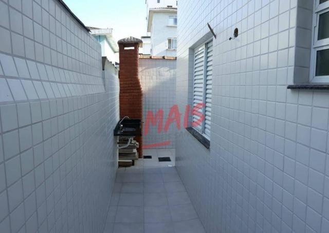 Casa com 3 dormitórios à venda, 105 m² - Ponta da Praia - Santos/SP - Foto 3