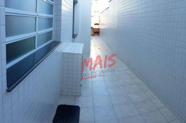 Casa com 3 dormitórios à venda, 105 m² - Ponta da Praia - Santos/SP - Foto 18