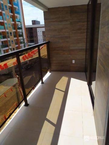 Apartamento com 2 dormitórios à venda, 63 m² por R$ 290.000,00 - Intermares - Cabedelo/PB - Foto 12