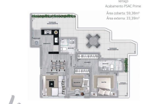Apartamento à venda com 2 dormitórios em Lourdes, Belo horizonte cod:267365 - Foto 3
