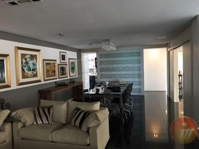 Apartamento à venda com 4 dormitórios em Ponta verde, Maceio cod:V453 - Foto 5
