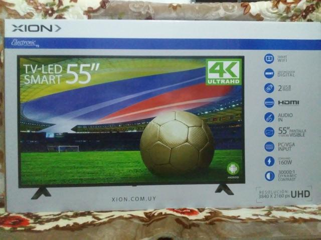 Promoção televisor 55 polegada novo na caixa