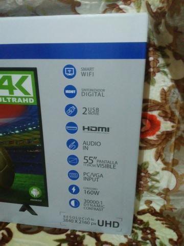 Promoção televisor 55 polegada novo na caixa - Foto 2