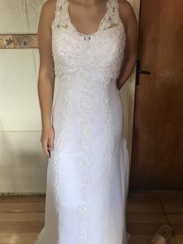 Vestido de noiva novinho - Foto 2