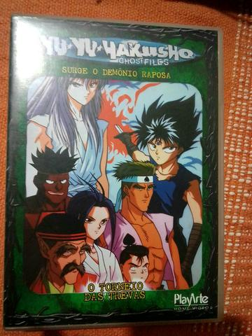 4 dvds YU.YU.YAKUSHO E DRAGONBALL Z O FILME - Foto 3