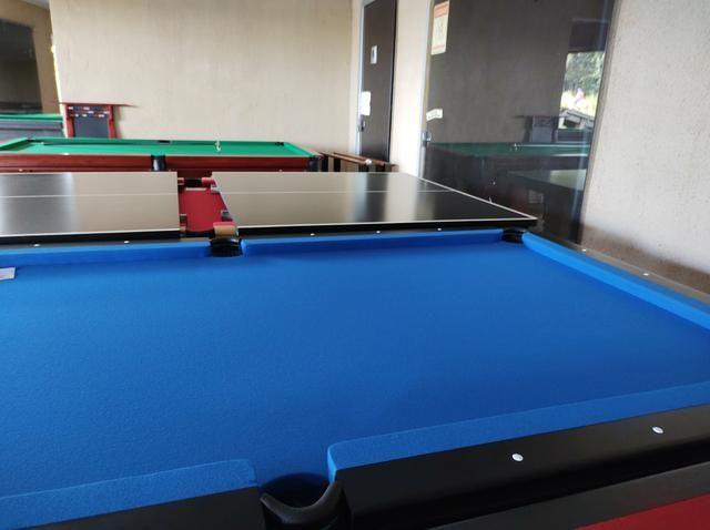 Troco mesa Sinuca Residencial/Pebolim/Ping pong Por Carro ou Moto