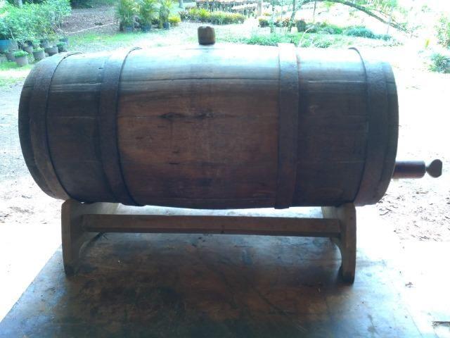 Barril/Pipa de carvalho 45 litros - Foto 4