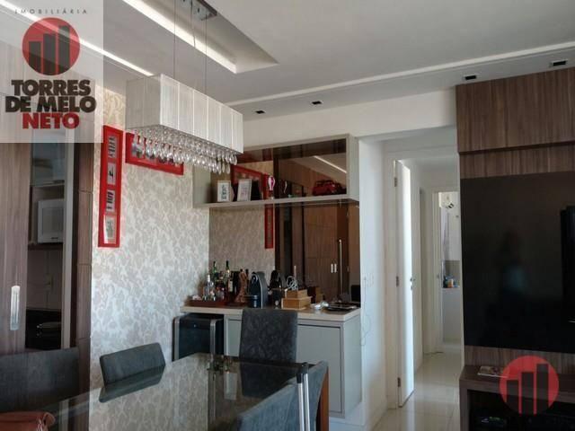 Apartamento à venda, 130 m² por R$ 1.050.000,00 - Fátima - Fortaleza/CE - Foto 9