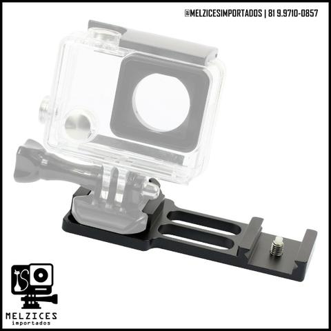 Trilho tatico Lateral 20mm para GoPro e Similares - Foto 4