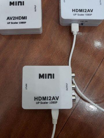 Conversor Hdmi para RCA/Av....e RCA/Av para Hdmi