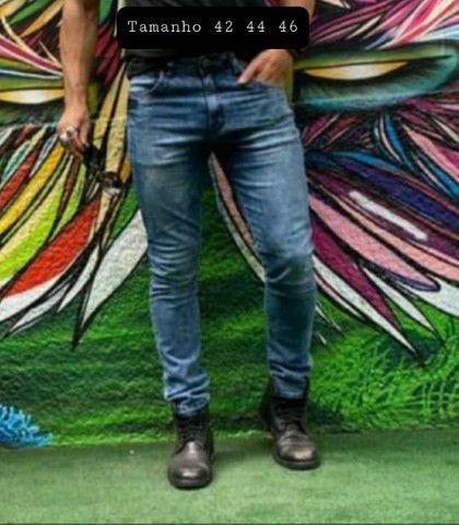 Calça jeans masculina. Somente Tamanho 44 e 46. - Foto 2