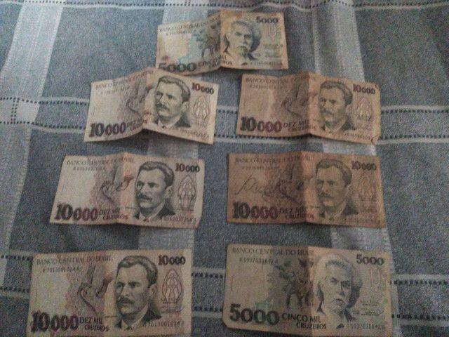 Notas antigas de Cruzeiro