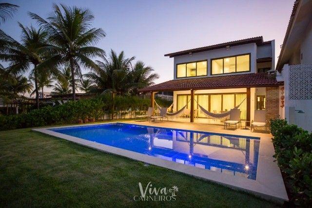 FA Casa beira mar na Praia dos Carneiros c/ 4 quartos - Foto 11