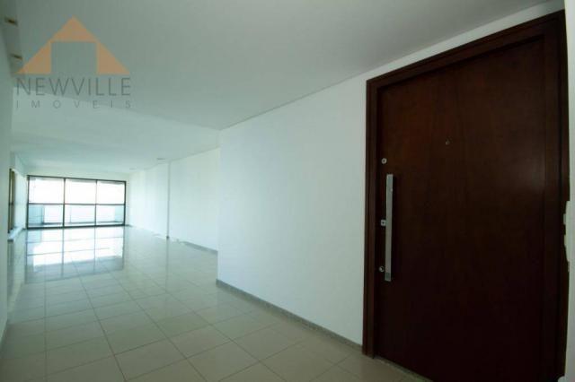 Apartamento com 4 quartos para alugar, 201 m² por R$ 9.499/mês - Boa Viagem - Recife - Foto 5