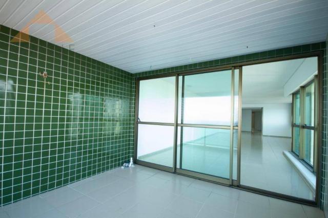 Apartamento com 4 quartos para alugar, 201 m² por R$ 9.499/mês - Boa Viagem - Recife - Foto 3