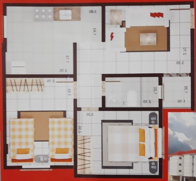 Apartamento no Bairro Julião Ramos - Foto 19