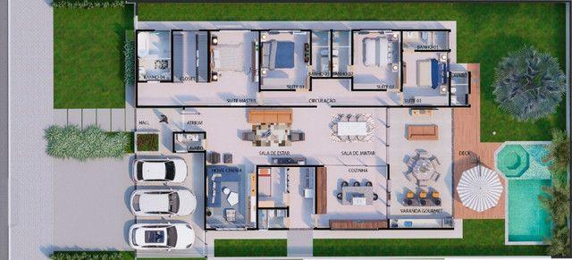 Casa Térrea Jardins Paris, 324 m², 04 Suites com master nova entrega em outubro - Foto 8