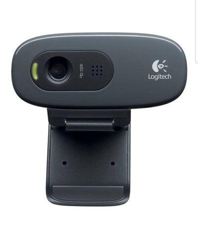 Webcam Logitech C270 Hd 720p Com Microfone