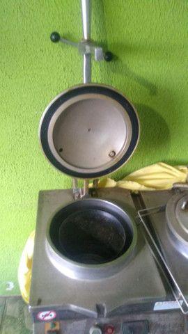 Fritadeira Industrial Novaind Bck Super 2 Bocas 220v - Foto 3