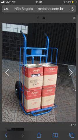 Carrinho de entrega reforçado 300kg - Foto 2