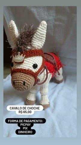 Artesanato de crochê  - Foto 6