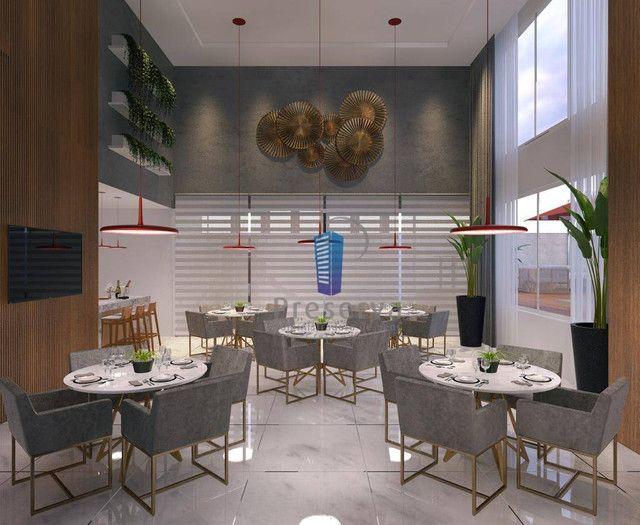 ENTREGA PARA 2024. Apartamento diferenciado, com amplo terraço e único no andar, no Centro - Foto 9