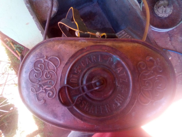 Bomba pulverizacao de cobre antiga - Foto 2
