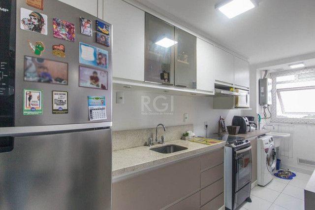 Apartamento à venda com 2 dormitórios em São sebastião, Porto alegre cod:EL56356639 - Foto 12