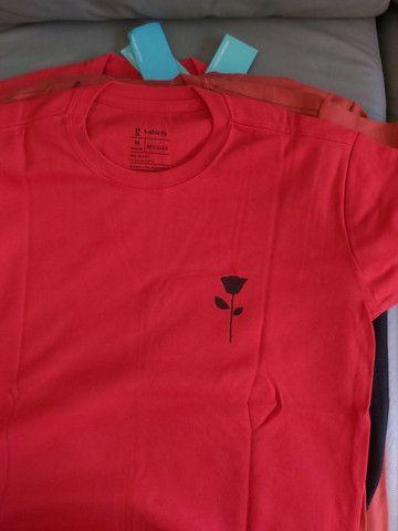 Camisas básicas Multimarcas de ótima qualidade  - Foto 2