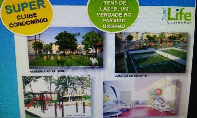 Apartamento ssuper life em Castanhal quitado por 60 mil avista zap * - Foto 14