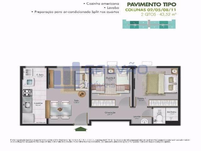 MR-2Q em Residêncial Centro da Serra, Financiamento MCMV e Entrada Super Facilitada!!! - Foto 19