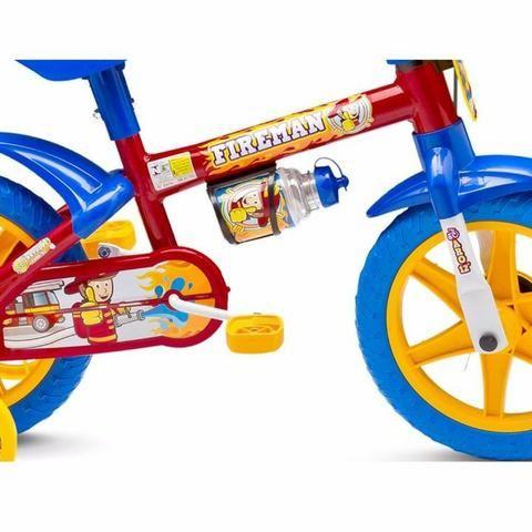 39b97bdb8 Bicicleta Infantil Aro 12 - Nathor - Fireman - Artigos infantis - Cj ...