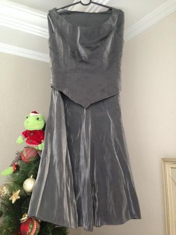 9566f5fb65 Conjunto de blusa e saia longa para festa - Roupas e calçados ...