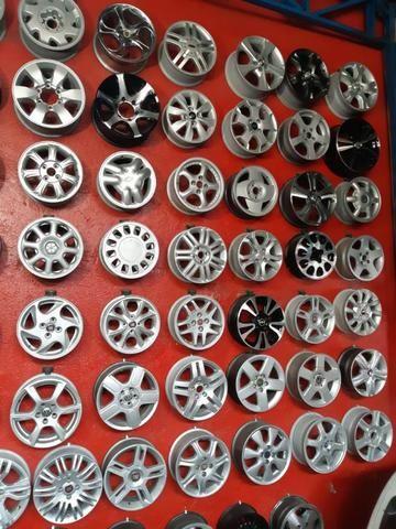 Rodas aros 13/14/15/16/17/18/19/20/22 para Fiat/GM/Nissan/VW/Toyota/Ford/Citroen e outros - Foto 9