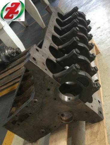 Bloco Motor Om352 Compressor 3 Furos - Foto 4