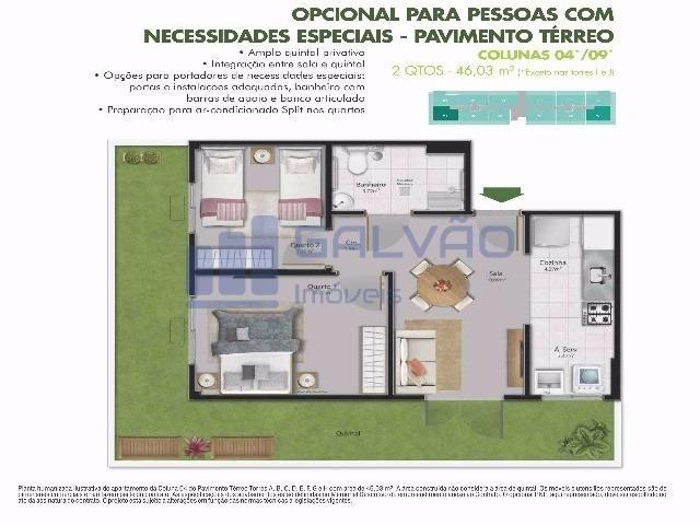 MR-2Q em Residêncial Centro da Serra, Financiamento MCMV e Entrada Super Facilitada!!! - Foto 17