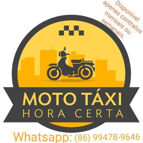 Mototaxi para contrato