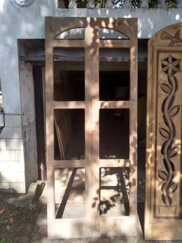 Vendo lote de portas entalhadas a mão - Foto 4