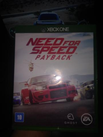 Need for speed Payback vendo ou troco
