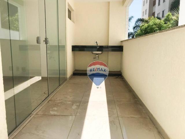 Apartamento garden com 4 dormitórios à venda, 130 m² por r$ 750.000,00 - buritis - belo ho - Foto 4