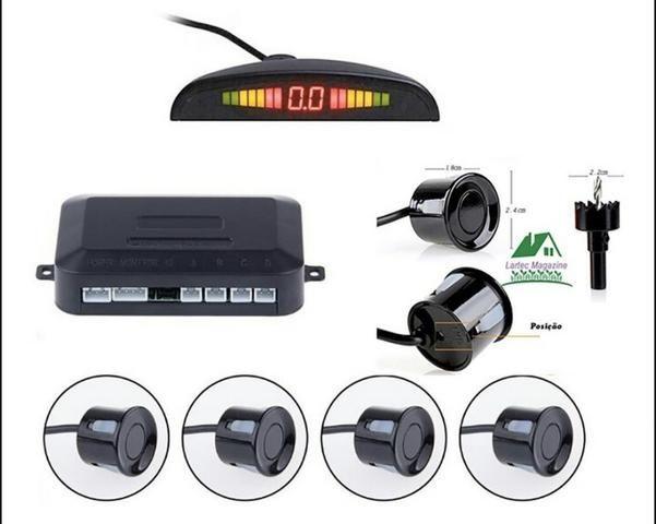 Sensores de estacionamento e câmera - Foto 2