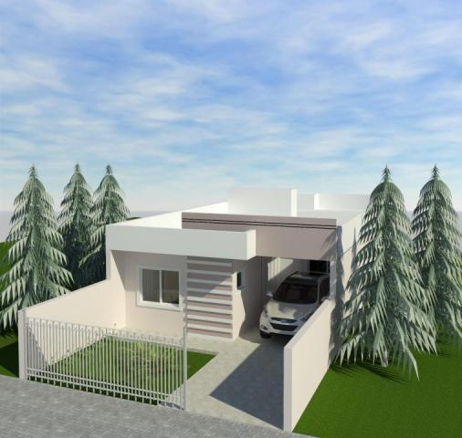 8287 | casa à venda com 3 quartos em boqueirão, guarapuava - Foto 3