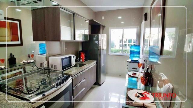 (AF16273) Condomínio de casa, Casa Jade: Alto Dunas 117m² | 3 suítes| DCE| 2 vagas - Foto 4