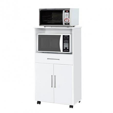 Balcao para forno e microondas / com rodinhas / montagem e entrega Gratis