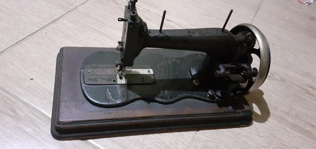 Máquinas de costura antiga raridade linda para decoração