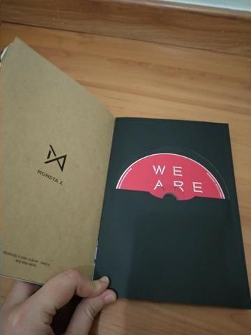 CD de K-Pop do Monsta X - Foto 2