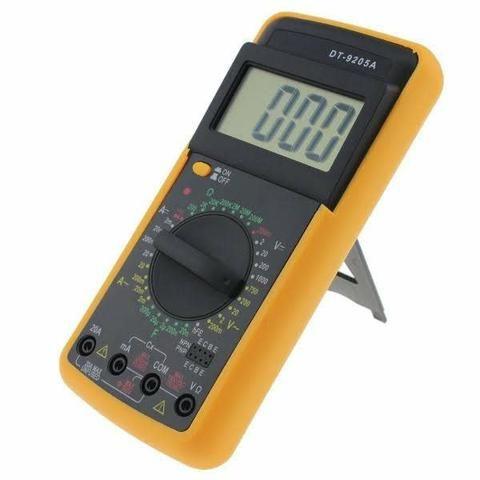 Multímetro digital com capacímetro (aceito cartão) - Foto 6