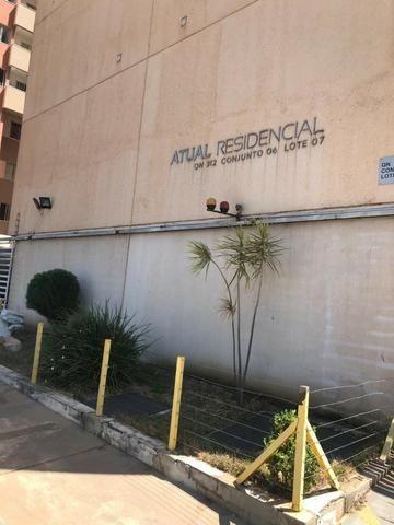 Baixou o preço!! Apartamento 1 Quarto Cond Atual Residencial Samambaia Sul - Foto 4