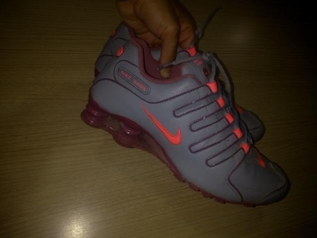 Pra vender logo, Nike Shox original número 39 quero 250 - Foto 2